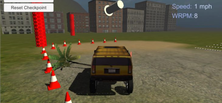 [WiP] Offroad Racer (Unity)